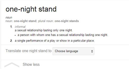 Half Night Stand