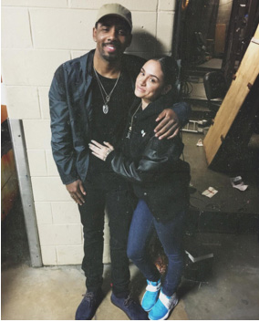 kyrie irving dating kehlani