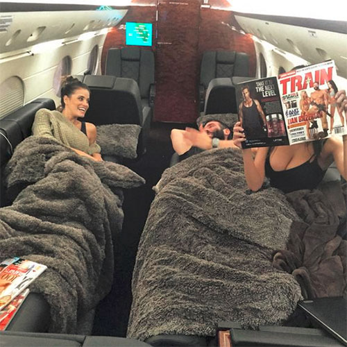 Sex On A Plane Dan Bilzerian