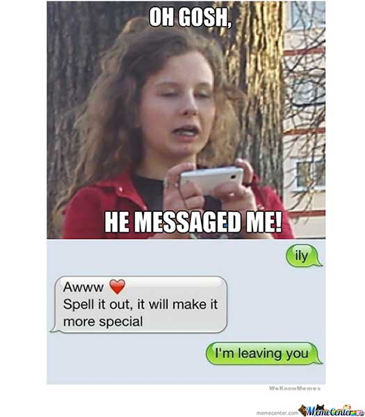 Text Messages To Send Girls