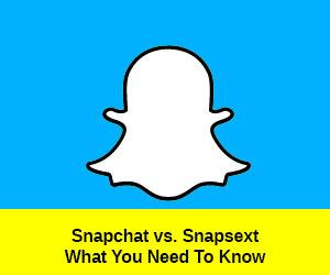 Snapchat vs Snapsext