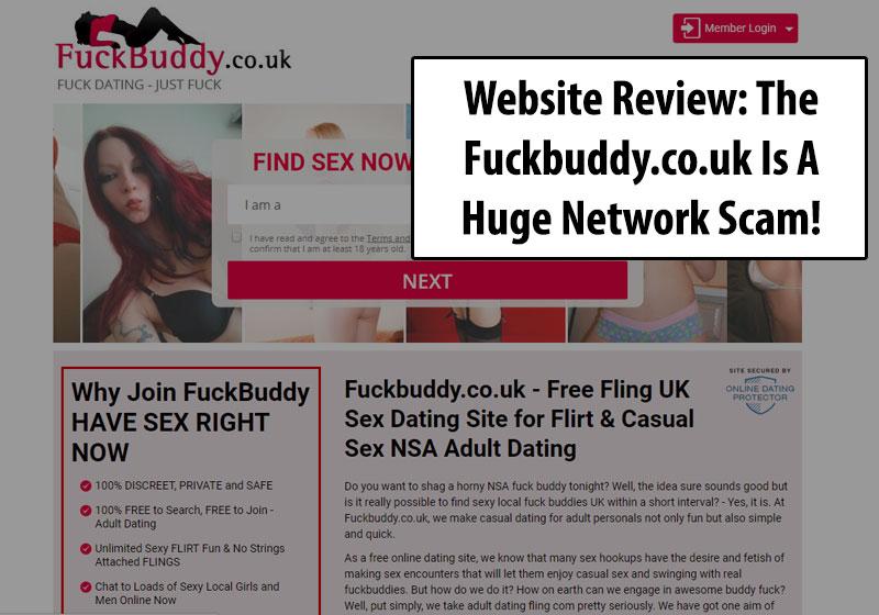 fuckbuddy.co.uk homepage
