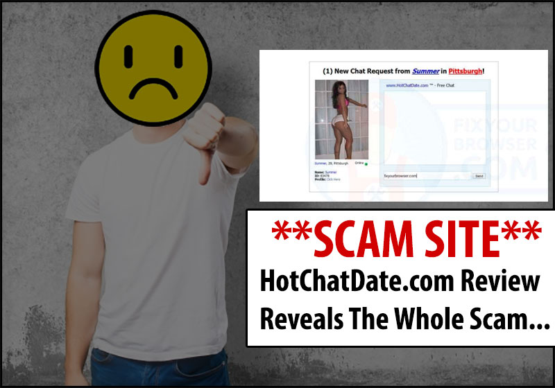 hotchatdate.com website scam