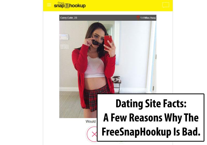 FreeSnapHookup.com Homepage