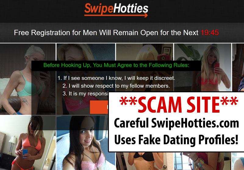 Swipe Hotties Homepage
