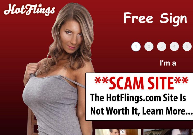 HotFlings homepage